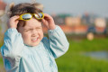 Sunglasses for kids protect eyes from sun damage
