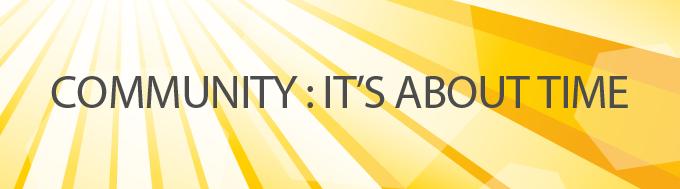 CommunityItsAboutTime_Course